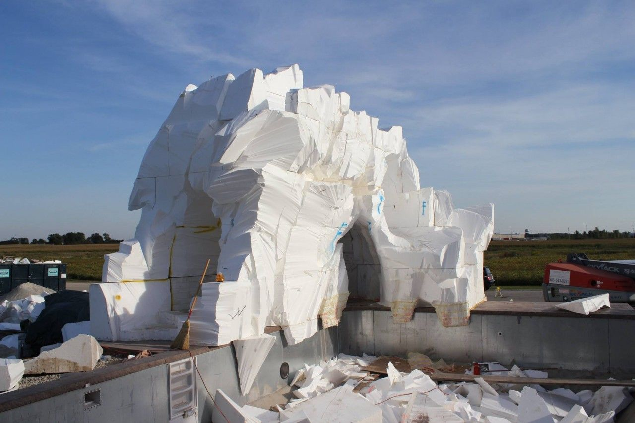 Foam Core Construction - What You Need to Start for Vertical Decorative Concrete